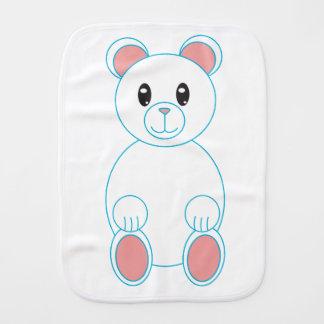 Oso polar paños para bebé