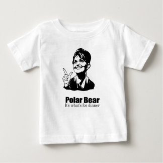 Oso polar para la cena tshirts