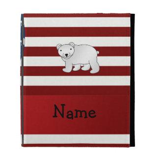 Oso polar patriótico conocido personalizado