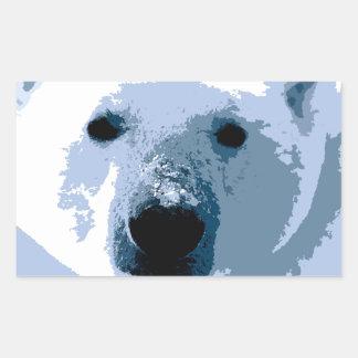 Oso polar rectangular altavoces