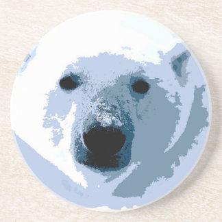 Oso polar posavasos cerveza