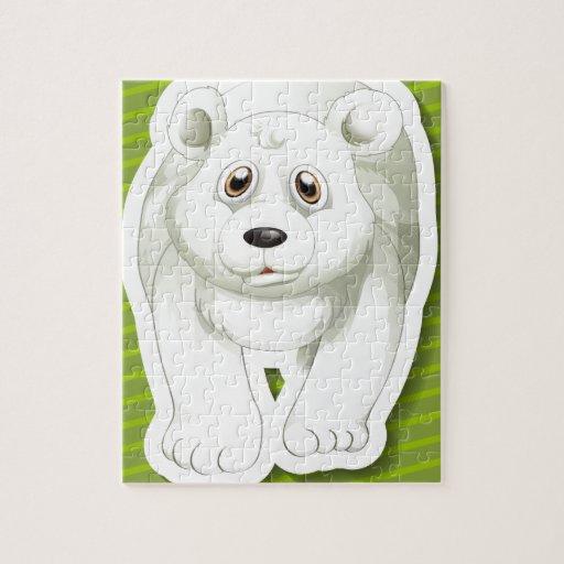 Oso polar puzzles con fotos