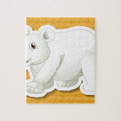 Oso polar puzzle con fotos