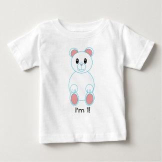 Oso polar soy un cumpleaños playeras