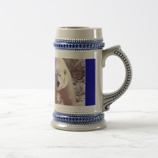 Oso polar Stein Taza De Café