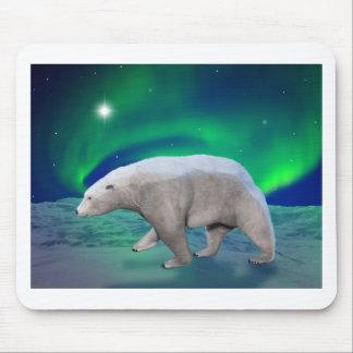 Oso polar alfombrillas de ratón