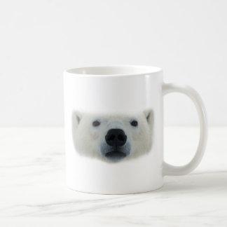 Oso polar taza básica blanca