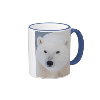 Oso polar taza de dos colores