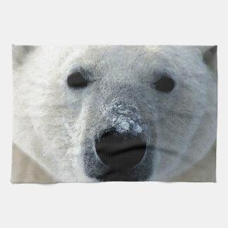 Oso polar toallas de mano