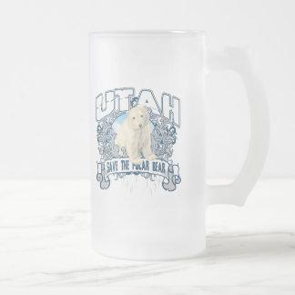 Oso polar Utah Tazas De Café