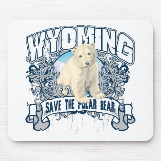 Oso polar Wyoming Tapete De Ratones
