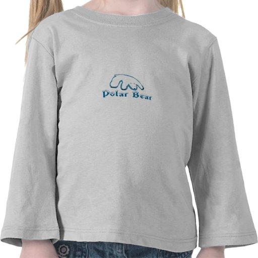 oso polarbear, polar camisetas