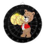 oso que toca los platillos shirt.png rojo tablero dardos
