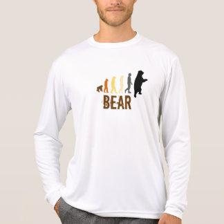 Oso/subida de los colores del oso del hombre playera