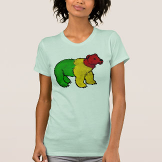Oso sucio de Rasta Tee Shirts