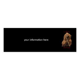 oso tarjeta de negocio