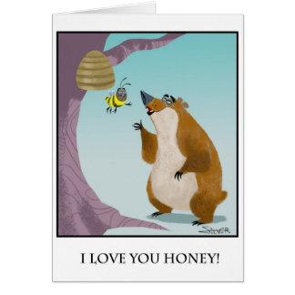 oso tarjeta de felicitación