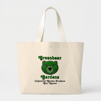 Oso verde, Greenbear Bolsa Tela Grande