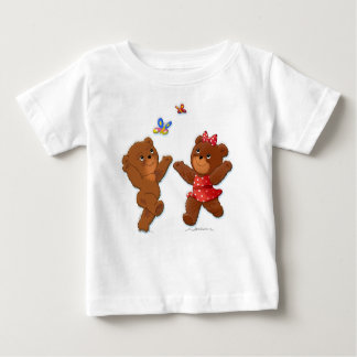 Oso y Baerin Playera Para Bebé