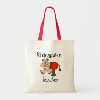 Oso y maestro de jardín de infancia de los sacapun bolsa tela barata