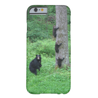 Oso y tres Cubs Funda De iPhone 6 Barely There