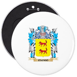 Osorio Coat of Arms - Family Crest Button