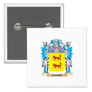 Osorio Coat of Arms - Family Crest Pins
