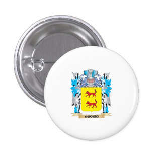 Osorio Coat of Arms - Family Crest Pinback Button