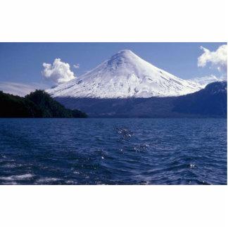 Osorno volcano and Todo Los Santos lake, Chile Cutout