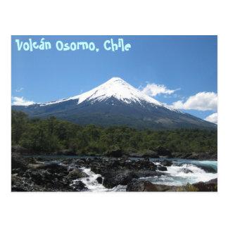 Osorno Volcano Postcard