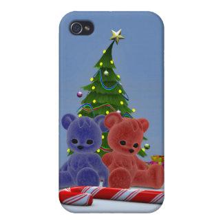 Osos 2 del navidad iPhone 4 funda