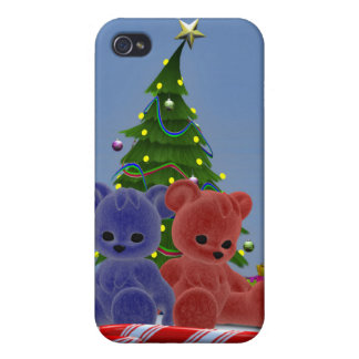Osos 2 del navidad iPhone 4 fundas
