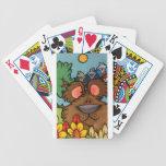 osos con los pájaros baraja cartas de poker