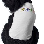 Osos de baile camisetas de mascota