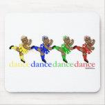 Osos de baile tapetes de raton