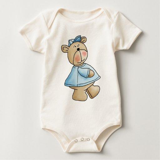 Osos de Lil · Camisa del azul del bebé