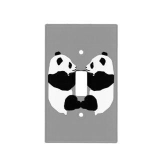 Osos de panda cubiertas para interruptor