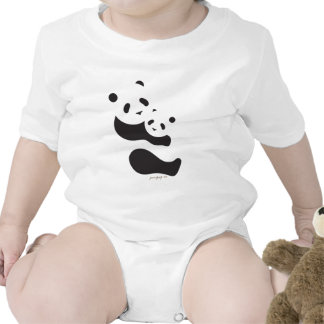 Osos de panda preciosos camisetas