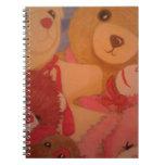 osos de peluche cuaderno