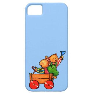 Osos de peluche en el coche del Soapbox - iPhone 5 Funda Para iPhone SE/5/5s