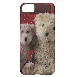 osos de peluche en un iPhone 5 de la silla apenas  Funda iPhone 5C