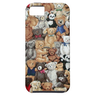 Osos de peluche funda para iPhone 5 tough