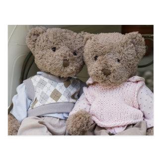 osos de peluche postales