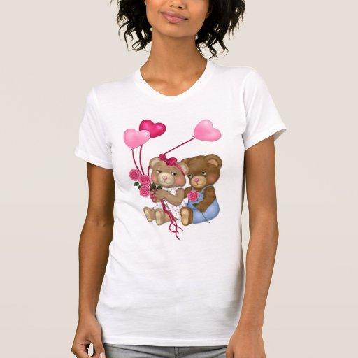 Osos del amor camiseta