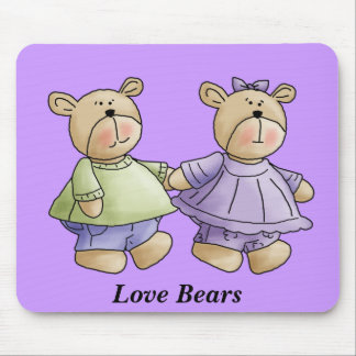 osos del amor tapetes de raton