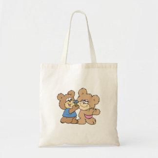 osos del boda de la oferta bolsa tela barata