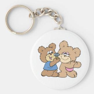 osos del boda de la oferta llavero personalizado