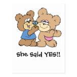 osos del boda de la oferta postal