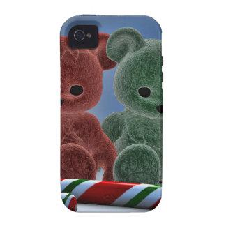 Osos del navidad Case-Mate iPhone 4 fundas