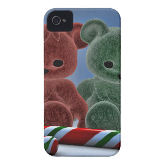 Osos del navidad iPhone 4 protector